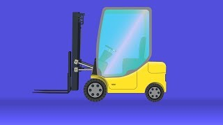 kids tv channel | forklift | vehicle assembly for kids | cartoon construction vehicles for children