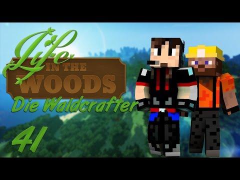 LIFE IN THE WOODS - Die Waldcrafter • Ein Besuch im Dorf #41 • Let's Play