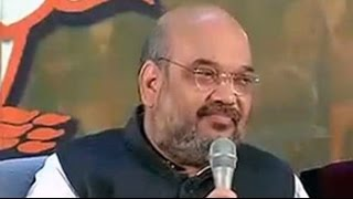 No comment, says Amit Shah on Mohan Bhagwat's 'Hindu Rashtra' statement
