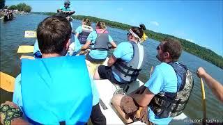 Dubuque Dragonboat 2017 Prelims Raw Footage Aquaholics