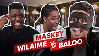WILAIME vs BALOO - MASKEY ft Eazykut // LE PERDANT PIEDS NUS !