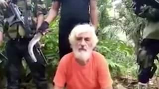 Terrorista filipinos decapita a un rehén alemán y publican el vídeo en internet