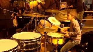 Sting - St Augustine in hell  cover by Matteo Franzè 8 years old drummer