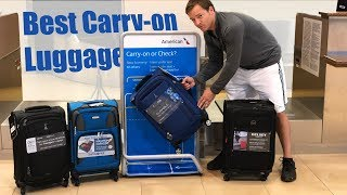 Best Carry-On Luggage  - Travel Pro Max Lite 4, FlightPath, Delsey Air Elite, Samsonite Aspire XLite
