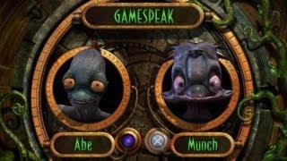 Oddworld: Munch's Oddysee PS3 Walkthrough HD 720P Part 1 - Intro + Spooceshrub Forest