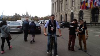 Greyp bike at the Pioneers Festival