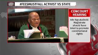 Bonginkosi Khanyile takes bail bid to concourt