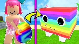 Roblox: *OVERPOWERED* RAINBOW PET CHALLENGE!!! - PET SIMULATOR [3]