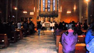 Healing Service conducted by Fr.Paul Robinson at Bremen, Germany on 04.04.2012