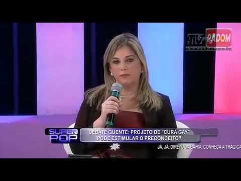 Psicologa Marisa Lobo e Lanna Holder no Programa Super Pop homossexualismo