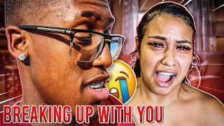 I BROKE UP WITH CARMEN SHE WENT TOO FAR (Gets heated)