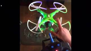 How To Operate The Q Copter Drone Quadcopter with HD Camera