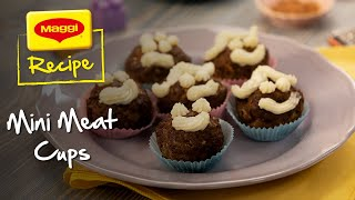 Mini Meat Cups with Mashed Potato Frosting Recipe. MAGGI Recipes