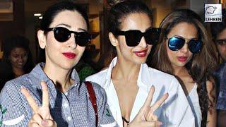 Karisma Kapoor Parties With Malaika But Where Is Kareena? | LehrenTV
