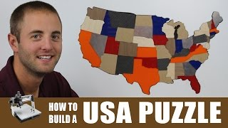 USA Puzzle   CNC Project