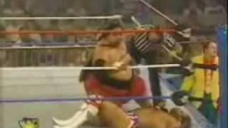 WWF Lex Luger vs Yokozuna KOTR 95