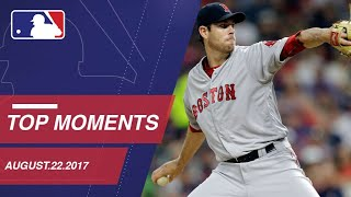 Fister's one-hitter, nine moments from around the Majors: 8/22/17