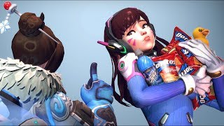 40 CRAZIEST PLAYS OF THE GAME - Overwatch Montage