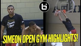 Simeon Open Gym Highlights! Talen Horton Tucker, New Transfers Shine!