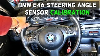 BMW E46 STEERING ANGLE SENSOR MATCH CALIBRATION 318i 320i 323i 325i 328i 330i 318d 320d 330ci 325ci