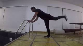 Vicky Freestyle workout : kick backs