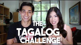 How Filipino Are You? (Tagalog Challenge ft. Janina Vela)