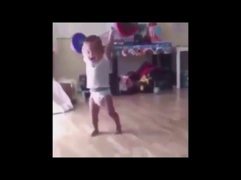 Baby lifting weights (Scream)|Ear rape