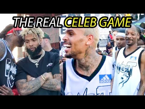 Xxx Mp4 The STARS Come Out For Snoop S Celeb Game Odell Beckham Chris Brown Lil Dicky 2 Chainz More 3gp Sex