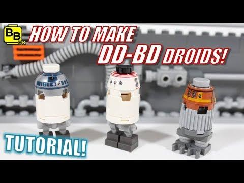 Xxx Mp4 HOW TO MAKE A LEGO STAR WARS DD BD DROID MINIFIGURE 3gp Sex