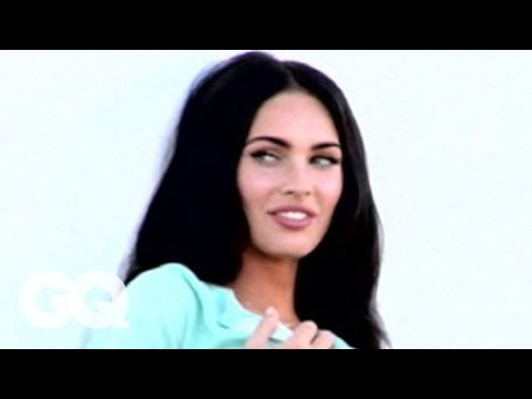 Megan Fox: Behind the Scenes of her 2008 GQ Magazine photo shoot - The Women of GQ