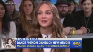 "Maddie Ziegler Launches Her Book ""The Maddie Diaries"""