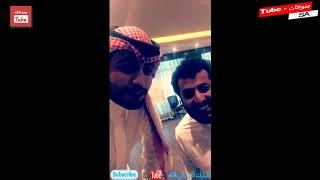 تركي آل الشيخ يلتقي صاحب فيديو مسلسل الرياضة السعودية ويمازحه: لا تسميني بلوتو