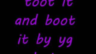 toot it and boot it lyrics Yg