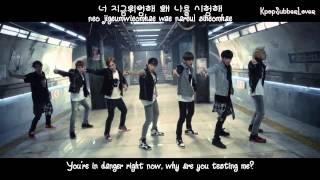 BTS - Danger MV [Eng Sub+Romanization+Hangul] HD