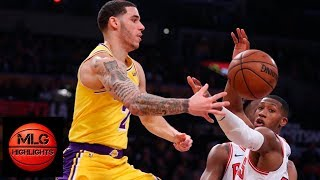 Lonzo Ball Destroys Entire Bulls With His Offensive Skills - 19 pts, 6 ast