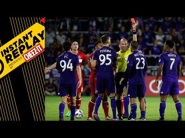 RED CARD DRAMA IN ORLANDO | Instant Replay