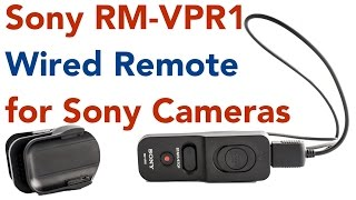 Sony RM-VPR1 wired remote control for Sony cameras