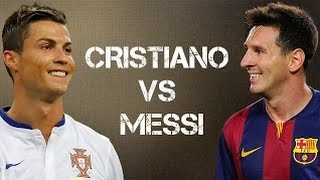 Cristiano Ronaldo vs Lionel Messi ● Amazing Skills Show Battle ● 2014 2015   HD