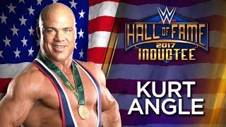 Kurt Angle joins the WWE Hall of Fame Class of 2017