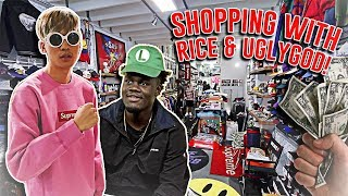 SHOPPING WITH RICE GUM AND UGLY GOD!! (NEW ROOMMATE)