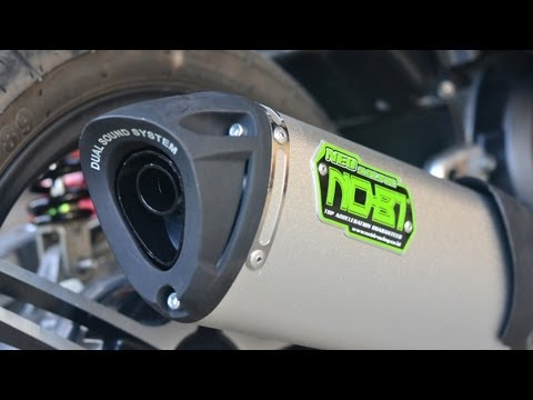 Nob1 Neo Silent Sport Dual Sound Exhaust Mio Amore Sporty 115