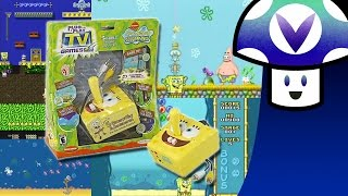 [Vinesauce] Vinny - Spongebob Squarepants Plug & Plague 5-in-1 TV Game