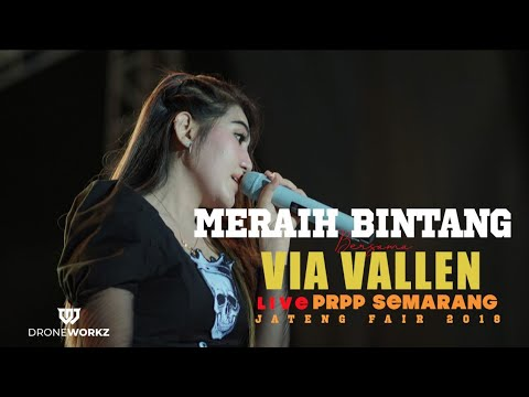 Via Vallen Meraih Bintang No Lipsync Om Sera Official Video Jateng Fair 2018 Prpp Semarang