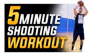 5 Minute Basketball Shooting Workout from Shot Mechanics