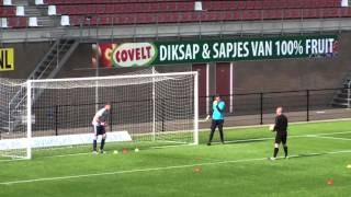 Goalkeeper recruitment video for lubomir magdolen