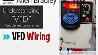 Allen Bradley Powerflex 4M- Understanding VFD Wiring