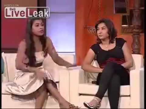 indian girl abuses funny reality show