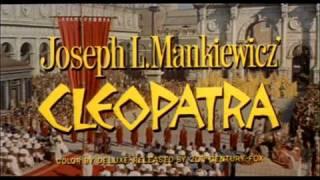 Cleopatra (1963) trailer Elizabeth Taylor
