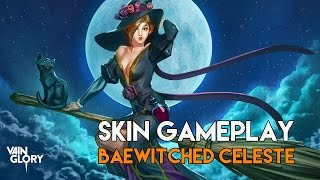 Vainglory Skins - Baewitched Celeste |Limited Edition Skin| Gameplay