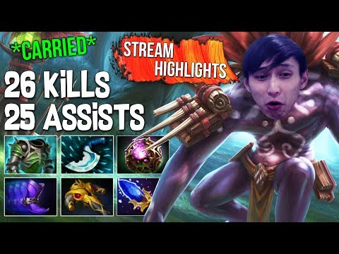 Xxx Mp4 26 Kills 25 Assists Carried With Witch Doctor ◄ SingSing Dota 2 Highlights 3gp Sex